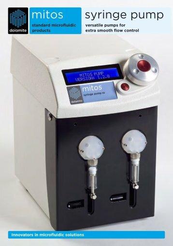 mitos syringe pump