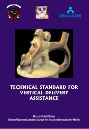 TECHNICAL STANDARD FOR VERTICAL DELIVERY ASSISTANCE