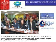 Life Science Innovation Forum VI