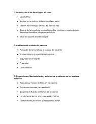 1. Introducción a las tecnologías en salud • La salud hoy • Alcance y ...