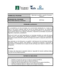 Diplomado en Gestión y Soporte de Equipos Médicos II,Colombia