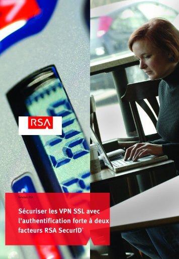 Sécurisez les VPN SSL avec l'authentication forte - BRAIN ...