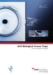 ACO Biological Grease Traps
