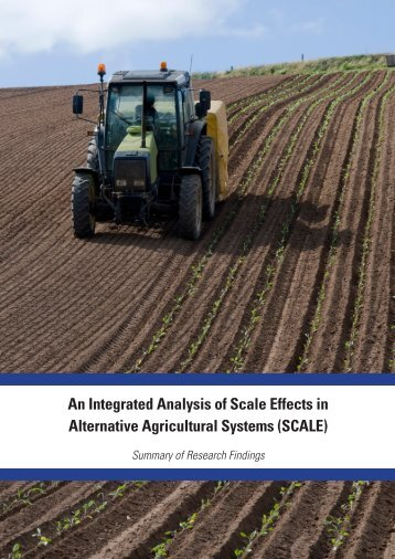SCALE - The Organic Research Centre