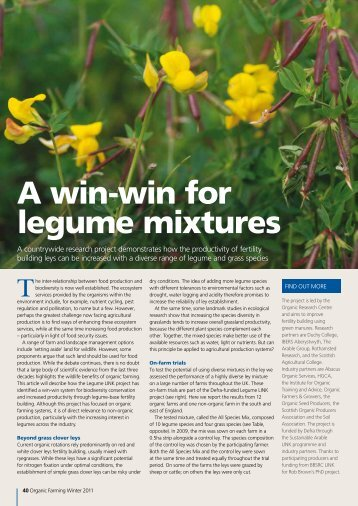 A win-win for legume mixtures