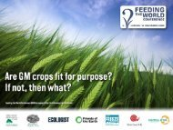 GM Crops and Biodiversity – is this solely a GM issue?