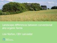Lisa Norton - The Organic Research Centre