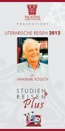 LITERARISCHE REISEN 2012