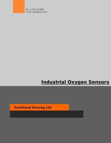 Industrial Oxygen Sensors