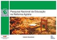 Miolo Pesquisa Nacional da Educação na Reforma Agrária - lepel