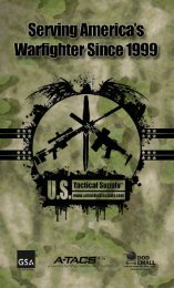 USTS Catalog 2012 - US Tactical Supply