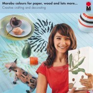 Marabu colours for paper, wood and lots more… Creative crafting ...