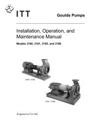 Installation Operation and Maintenance Instructions ANSI