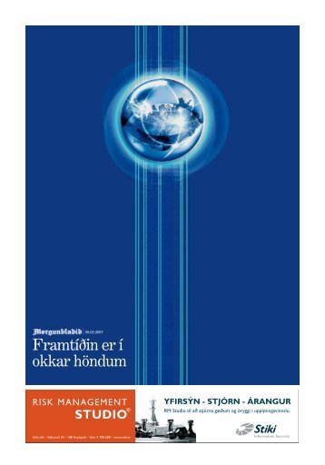 Aukablað Morgunblaðsins 9. febrúar 2007 - Samtök iðnaðarins
