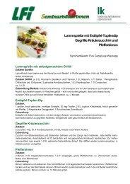 Lammspieße mit Erdäpfel-Topfendip Gegrillte Kräuterzucchini ... - BTV