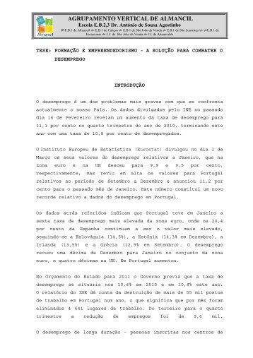 AGRUPAMENTO VERTICAL DE ALMANCIL