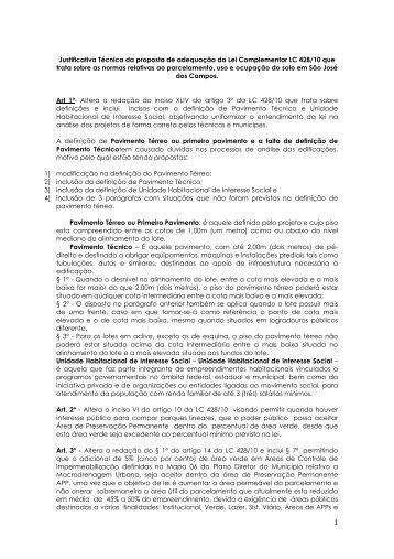 Faça download do arquivo pdf (3,67 MB) do Projeto de Lei em ...