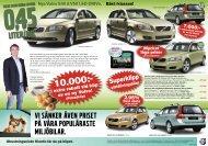 vi sänker även priset på våra populäraste miljöbilar. - Bilkompaniet