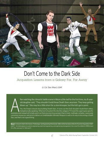 Don't Come to the Dark Side - Defense Acquisition University