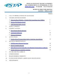 pinellas suncoast transit authority 3201 scherer drive, st ... - PSTA
