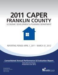 2011 CAPER