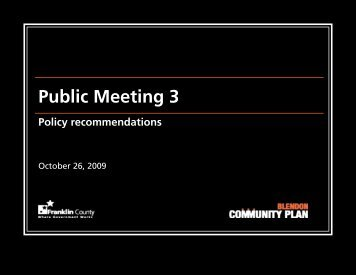 Public Meeting 3