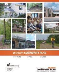 BLENDON COMMUNITY PLAN