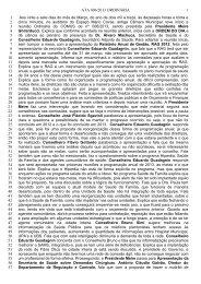 Ata número 06 - Prefeitura Municipal de São José dos Campos