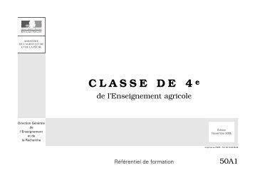 CLASSE DE QUATRIÈME DE L'ENSEIGNEMENT ... - Air De Math