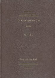 Myst Kroniek - Things Uru