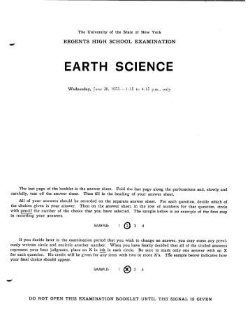 new york declare planet discipline regents look at ebook answers