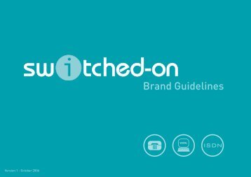 BT Wholesale: Switched-on Brand Guidelines