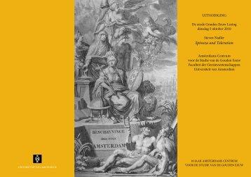 Spinoza and Toleration