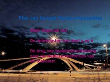 Plan van Aanpak Mediacompetenties