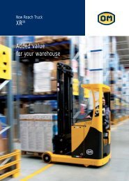 XR Added value for your warehouse