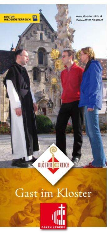 Denn auf dich hin hast du uns - Gast im Kloster