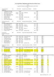 La Longevilloise Championnat De Meuse Des 10 Km Course