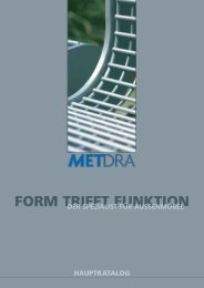 Download Katalog 2011 als PDF - METDRA Metall