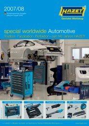 2007/08 special worldwide Automotive - Esser Tools