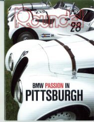 BMW Passion in Pittsburgh (PDF)  Roundel Magazine Oct