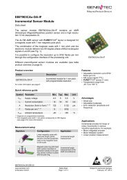 EBI7903CAx-DA-IF Incremental Sensor Module