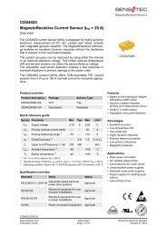 CDS4025 MagnetoResistive Current Sensor (I = 25 A)