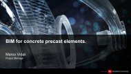 BIM for concrete precast elements