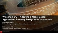 Wisconsin DOT's move to model-based Design