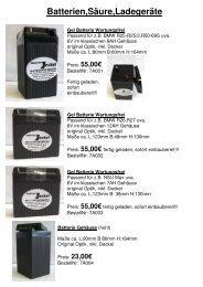 Batterien,Säure,Ladegeräte