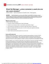 Sheet Set Manager ¿cómo comenzar a usarlo de una vez y para siempre?