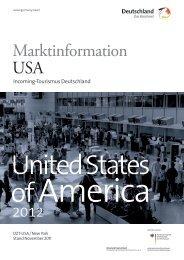 Marktinformation USA - Deutschland