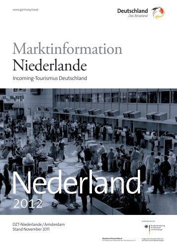 Marktinformation Niederlande - Deutschland