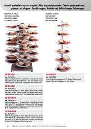 Carrelli portapiatti, vassoi e teglie - Dish, tray and pan carts ... - Forcar