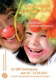 Download der Tagungsbroschüre als PDF - Gesellschaft für ...